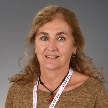 Vicky Fumadó, pediatra en la Unidad de Enfermedades Infecciosas e Importadas