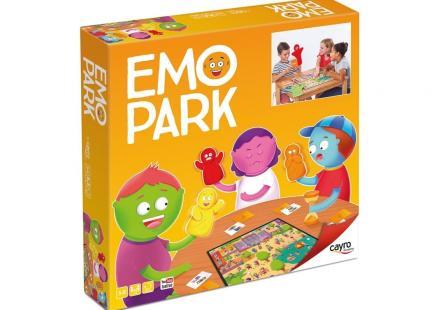 caja EMO PARK con representación del juego