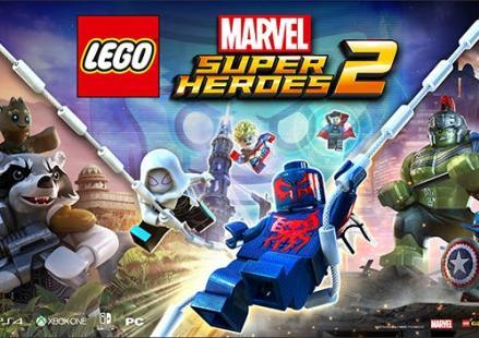 Portada del videojoc Lego Marvel Super Heroes 2