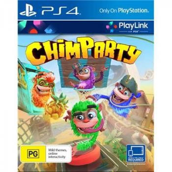 Portada del videojoc Chimparty