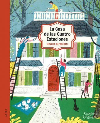 """Portada del libro """"La casa de las cuatro estaciones"""""""