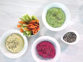 Hummus de colors