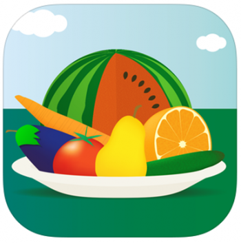 App 100 Fruits and Vegetables