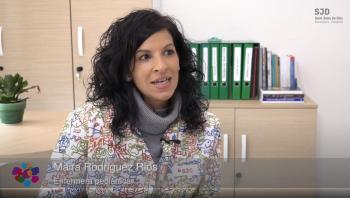 Maira Rodríguez Ríos, infermera pediàtrica de l'Hospital Sant Joan de Déu