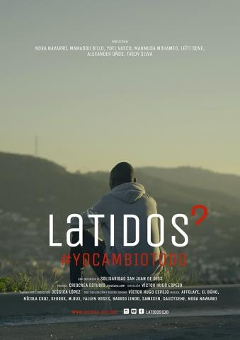 Cartel serie documental Latidos #YoCambioTodo