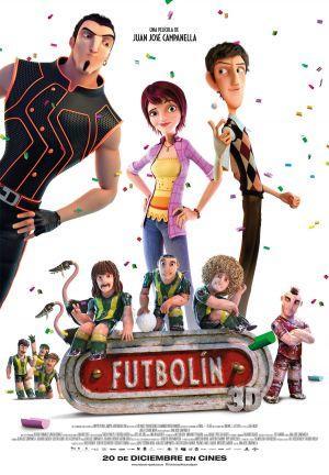 """Portada película """"Futbolín"""""""