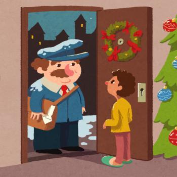 """Il·lustració del conte """"El conte de Nadal"""""""