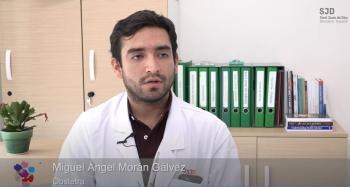 Miguel Ángel Morán Gálvez. Obstetre de l'Àrea de la Dona de l'Hospital Sant Joan de Déu