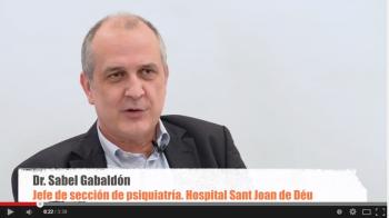 Dr. Sabel Gabaldón, Jefe de Sección de psiquiatría del Hospital Sant Joan de Déu