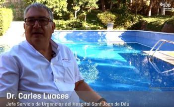 Dr. Carles Luaces, cap del Servei d'Urgències Pediàtriques de l'Hospital Sant Joan de Déu Barcelona