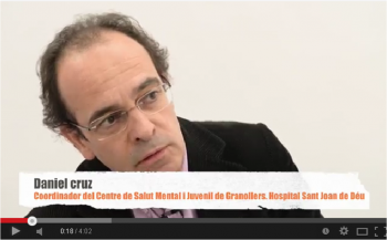 Dr. Cruz, Coordinador del Centro de Salud Mental y Juvenil de Granollers del Hospital Sant Joan de Déu