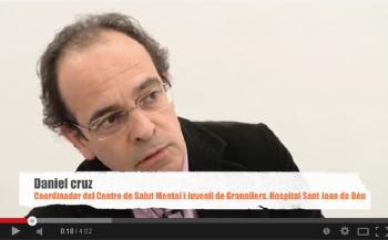 Dr. Cruz, coordinador del Centre de Salut Mental i Juvenil de Granollers de l'Hospital Sant Joan de Déu
