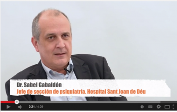 Dr. Sabel Gabaldón, Cap de Secció de psiquiatria de l'Hospital Sant Joan de Déu