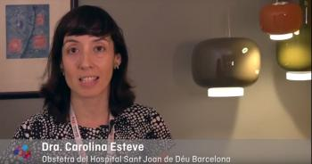 Dra. Carolina Esteve, obstetra de l'Àrea de la Dona de l'Hospital Sant Joan de Déu Barcelona