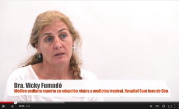 Dra. Vicky Fumadó, médico pediatra especialista en viajes