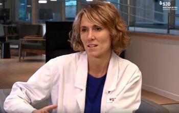 Dra. Marta Simó, adjunta de pediatria i coordinadora de la Unitat Funcional d'Abusos al Menor (UFAM) de l'Hospital Sant Joan de Déu Barcelona
