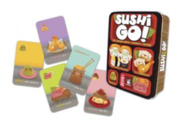 El juego de cartas, SushiGo