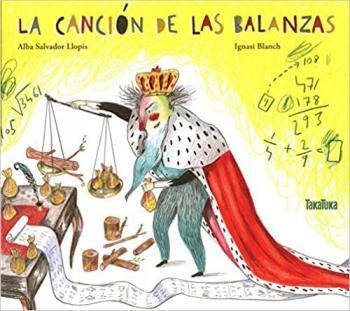 """Portada del cuento """"La canción de las Balanzas"""""""