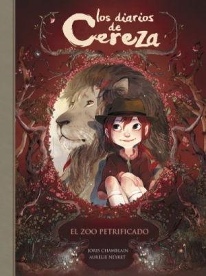 Portada del còmic Els diaris de Cirera: El zoo petrificat