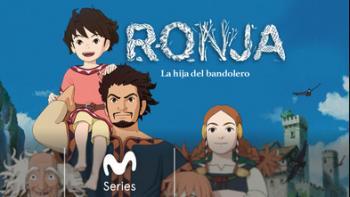 Ronja, la hija del bandolero, título de la animación japonesa aquí sugerida