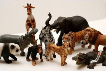 Figuras schleich figuras de animales para no dejar de for Animales de plastico para jardin
