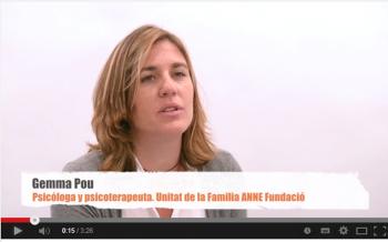 Gemma Pou, psicóloga y psicoterapeuta de la Unidad de la Familia de la ANNE Fundació
