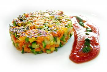 Hamburguesa de verduras