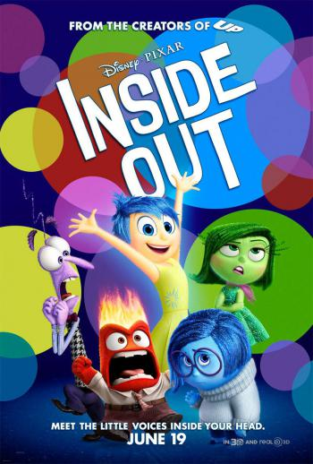 "Portada de la película ""Inside Out"""