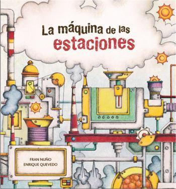 Portada llibre «La màquina de les estacions»
