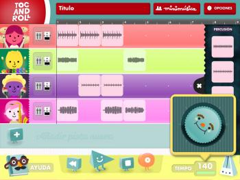 """Imagen de la app """"Tocandroll"""""""