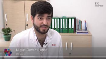 Miguel Ángel Garcia Blanco, obstetre de l'Àrea de la Dona de l'Hospital Sant Joan de Déu