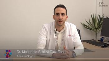 Mohamed Said Al-Dirra Taha, anestesiólogo de l'Àrea de la Dona de l'Hospital Sant Joan de Déu