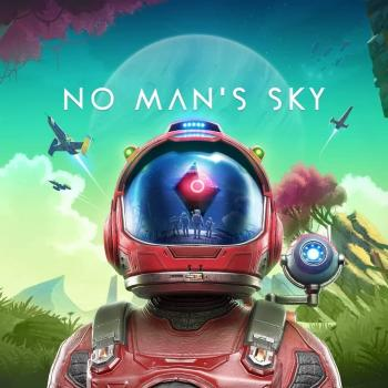 "Portada del videojoc ""No man's sky: Beyond"""