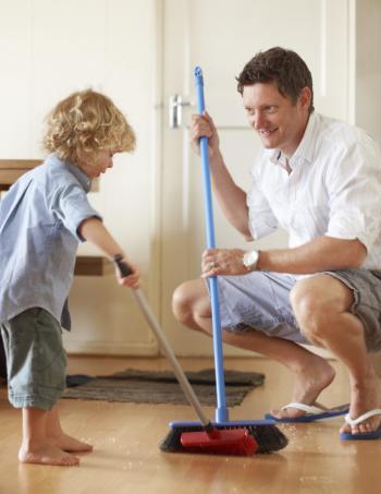 Los niños que colaboran en las tareas del hogar son más ...