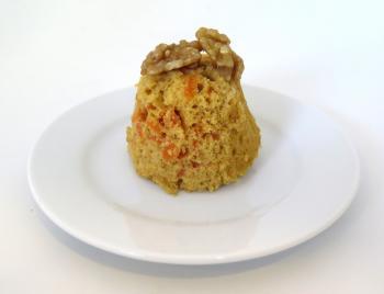 Pastís integral de pastanaga amb nous