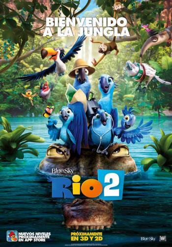 Rio 2, bienvenido a la jungla