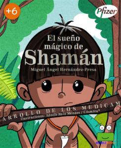 """Portada del llibre """"El sueño mágico de Shamán"""""""