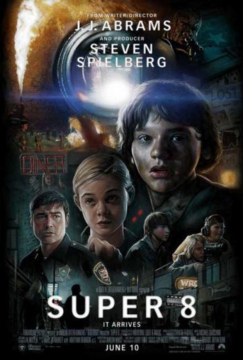 """Portada de la película """"Super 8"""""""