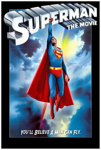 """Portada de la película """"Superman I"""""""