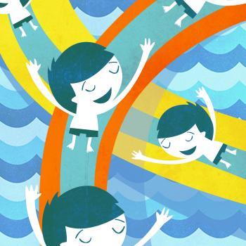 """Portada conte  """"El planeta piscina"""""""