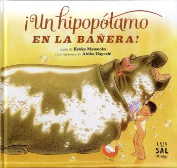 Un hipopòtam a la banyera!