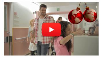 Imagen video felicitación Navidad 2013 - Hospital Sant Joan de Déu