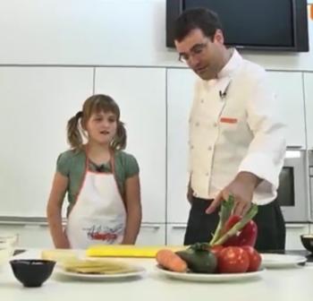 Videorecepta Lasanya de verdures
