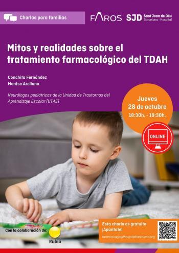 Mitos y realidades sobre el tratamiento farmacológico del TDAH