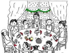 Celebremos las fiestas de Navidad