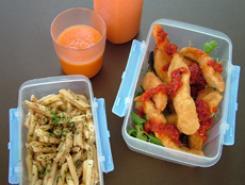 La fiambrera en el comedor escolar