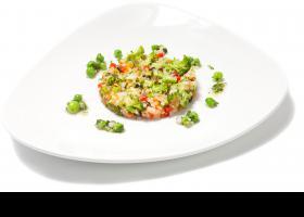 Amanida de peix i quinoa