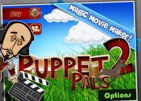 """Portada de la app """"Puppet Pals 2"""""""