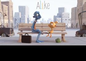 "Imatge del curtmetratge ""Alike"""
