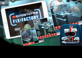 Imagen juego LEGO MINDSTORMS Fix Factory